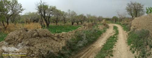 صحرای آبدار روستای جوشقان