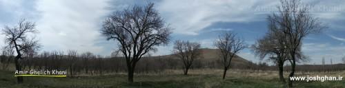 صحرای چربین - روستای جوشقان