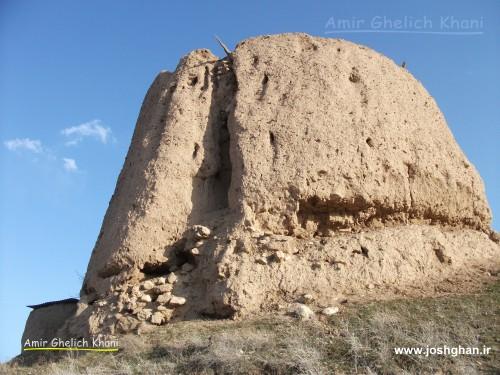 قلعه قدیمی - روستای جوشقان