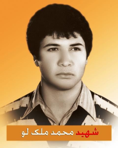 شهید محمد ملک لو